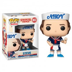 Figura Funko Pop Television Stranger Things Steve With Hat and Ice Cream