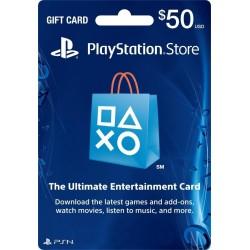 Playstation Network PSN Card US$50