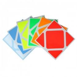 Stickers Adhesivo Cubo Skewb