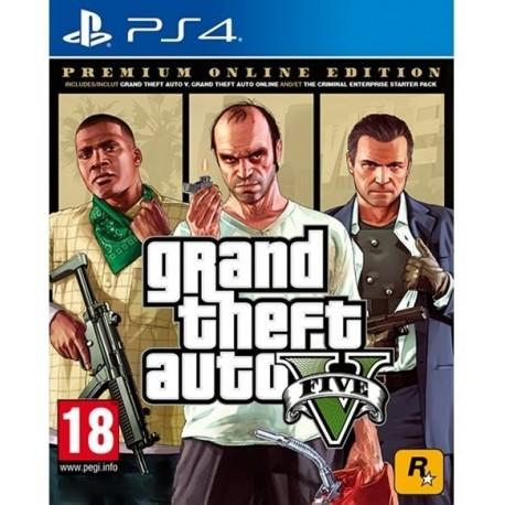 Grand Theft Auto V Premium Online Edition (GTA V)