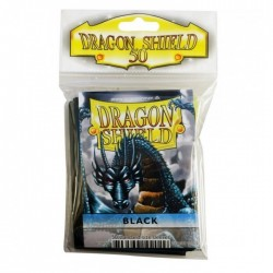 Protectores Dragon Shield Estándar x50 Negro