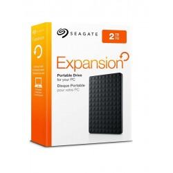 "Seagate® Disco Externo 2TB 2,5"" USB 3.0 Portable Expansion Drive Negro"