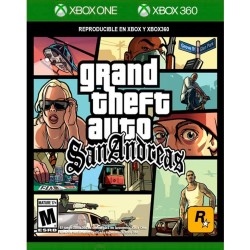 Grand Theft Auto ( GTA ) San Andreas XBOX 360/ XBOX ONE