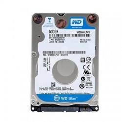 """Disco Duro WD Blue 500GB 2.5"""" Sata 3 5400rpm 7mm"""