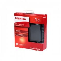 Disco Duro Externo Toshiba Canvio Advance 1tb Negro Usb 3.0
